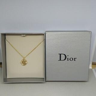 Christian Dior - CD114 未使用【Dior ディオール】ネックレス ゴールド ストーン