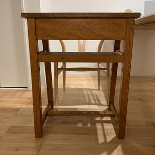 ムジルシリョウヒン(MUJI (無印良品))の図工室机 レトロ家具 ヴィンテージ家具 (ローテーブル)