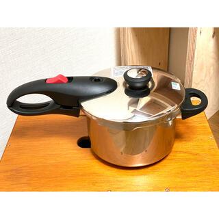 片手圧力鍋 &『 忙しい人のための圧力鍋レシピ 』(鍋/フライパン)
