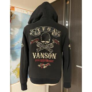 VANSON - VANSON 大きなロゴでカッコいい! M  美品 男女兼用