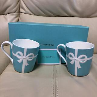 Tiffany & Co. - ティファニーペアマグカップリボン