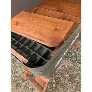 トランクカーゴ用 50L 用 木製19mm厚天板 防水塗装(テーブル/チェア)