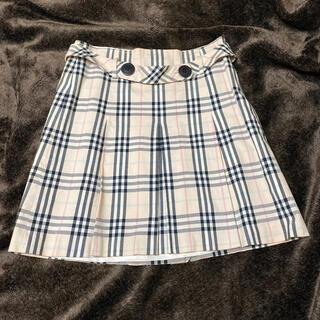 バーバリーブルーレーベル(BURBERRY BLUE LABEL)のBURBERRY BLUE LABEL スカート チェックスカート バーバリー(ミニスカート)