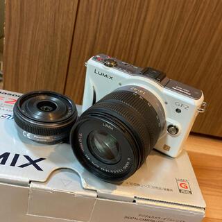 Panasonic - 【送料無料】Panasonic ミラーレス一眼 デジタルカメラ DMC-GF2W