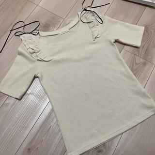 ミーア(MIIA)のミーア 4部丈 トップス(Tシャツ(長袖/七分))