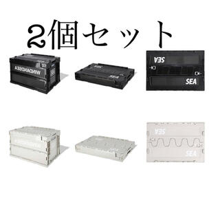 SEA - WIND AND SEA ☆ WDS CONTAINER BOX  2個セット