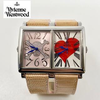 Vivienne Westwood - Vivienne Westwood 腕時計 ダブルフェイス シルバー ハート