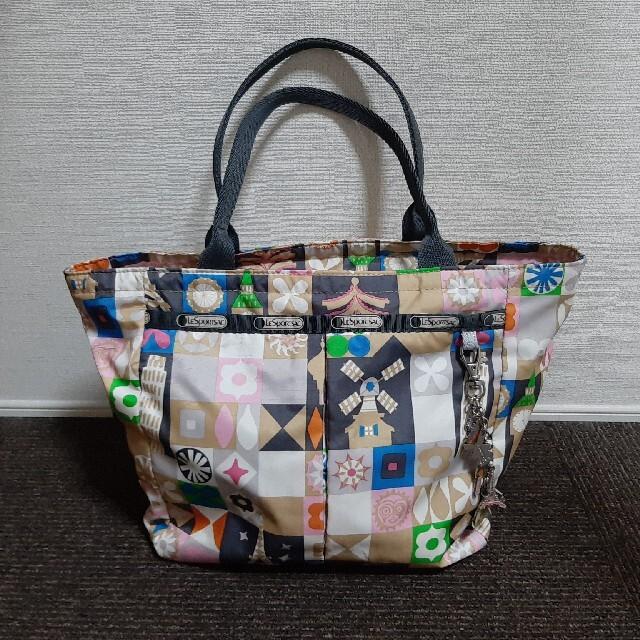 LeSportsac(レスポートサック)のレスポートサック ディズニー コラボ 超美品 トートバッグ 手提げ ナイロン レディースのバッグ(トートバッグ)の商品写真