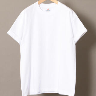 BEAUTY&YOUTH UNITED ARROWS - 白 【別注】 Hanes ヘインズ BEEFY-T/ビーフィー Tシャツ
