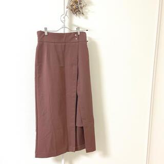 グレイル(GRL)のGRL ラップ風スリットタイトスカート(ロングスカート)