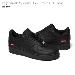 シュプリーム(Supreme)のsupreme Nike Air Force 1 Low 26.0 Black(スニーカー)