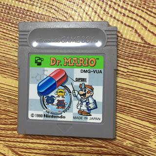 ゲームボーイ(ゲームボーイ)のドクターマリオ(家庭用ゲームソフト)