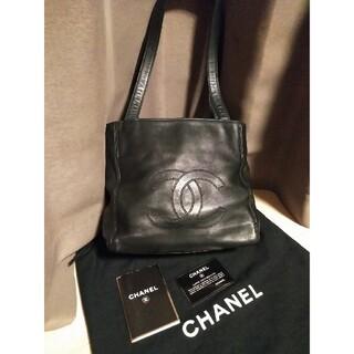 CHANEL - 美品 正規品 シャネル トートバック ココマーク バッグ