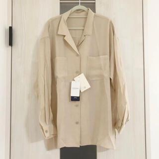 Simplicite - ベーセーストック オープンカラーシャツ 新品