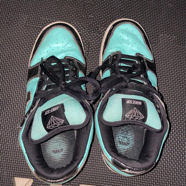 NIKE(ナイキ)のNIKE dunk low pro SB diamond ダンク ダイヤモンド メンズの靴/シューズ(スニーカー)の商品写真