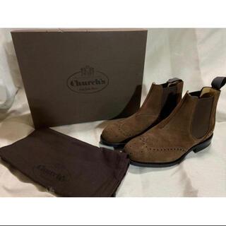 チャーチ(Church's)の新品未使用 チャーチ スエードサイドゴアブーツ KETSBY/CRANSLEY2(ブーツ)