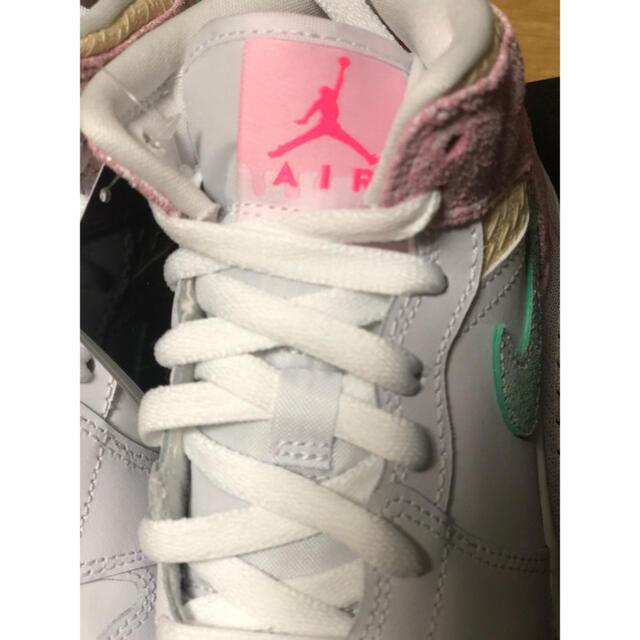 NIKE(ナイキ)の【23cm】NIKE AIR JORDAN 1 MID PAINT DRIP レディースの靴/シューズ(スニーカー)の商品写真