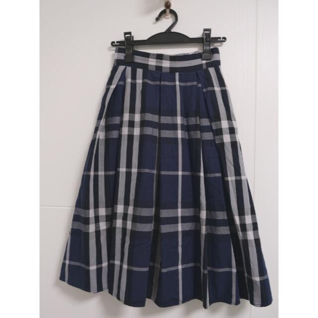 evelyn(エブリン)のAnMILLE アンミール チェック スカート レディースのスカート(ロングスカート)の商品写真