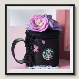 Starbucks Coffee - 海外限定❣️STARBUCKS スタバミニポーチ /コイン入れ(ブラック)