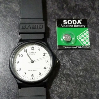 CASIO - 正常動作確認済 替え電池付 カシオ 腕時計 MQ-24