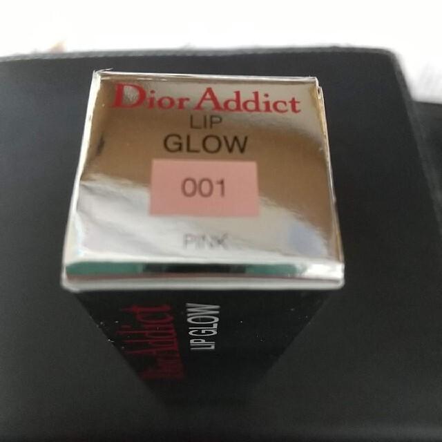 Dior(ディオール)の【新品】ディオール アディクト リップ グロウ 001 ピンク コスメ/美容のベースメイク/化粧品(リップグロス)の商品写真