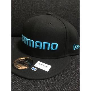 シマノ キャップ 限定  釣りフェスティバル 新品 ブラック/ブルー(ウエア)