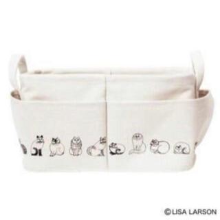 Lisa Larson - リサラーソン 外ポケット付き収納ボックス
