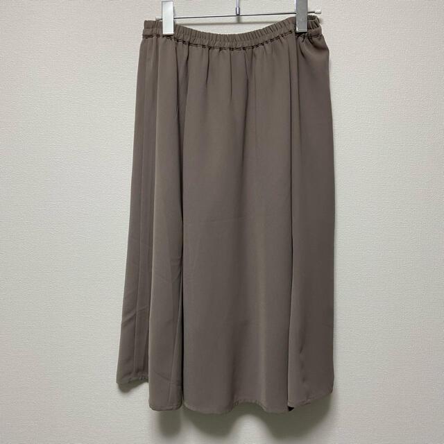 E hyphen world gallery(イーハイフンワールドギャラリー)のE hyphen world gallery ツイルフレアミディスカート レディースのスカート(ロングスカート)の商品写真