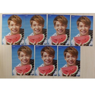 King&Prince 岸優太 Myojo厚紙カード 7枚セット(アイドルグッズ)
