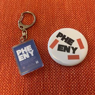 PHEENY - pheeny 別注ロンT 付属 ミラー・キーホルダー