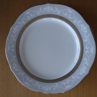 ノリタケ(Noritake)のノリタケ ハンプシャープラチナプレート二枚セット(食器)