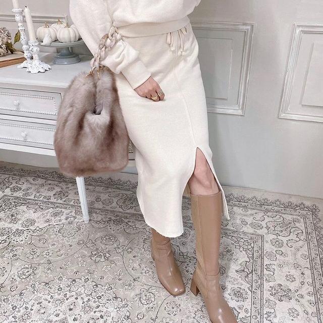 snidel(スナイデル)のmaison marble ♡cambon Set up♡カンボンセットアップ レディースのレディース その他(セット/コーデ)の商品写真