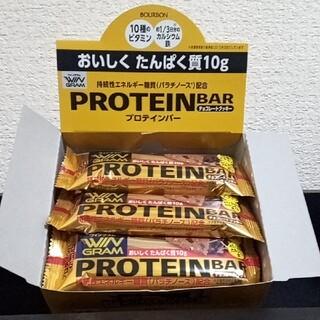 ブルボン・ウイングラム・プロテインバー(チョコレートクッキー)✕12本(プロテイン)