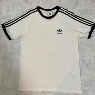 アディダス(adidas)のアディダス リンガーTシャツ ヴィンテージ  adidas 古着(Tシャツ/カットソー(半袖/袖なし))