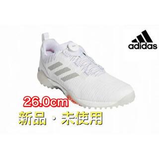 adidas - アディダス スパイクレスゴルフシューズ FV2522  26cm