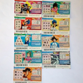 ドラゴンボール(ドラゴンボール)のドラゴンボール スクラッチハズレ券 18枚(キャラクターグッズ)