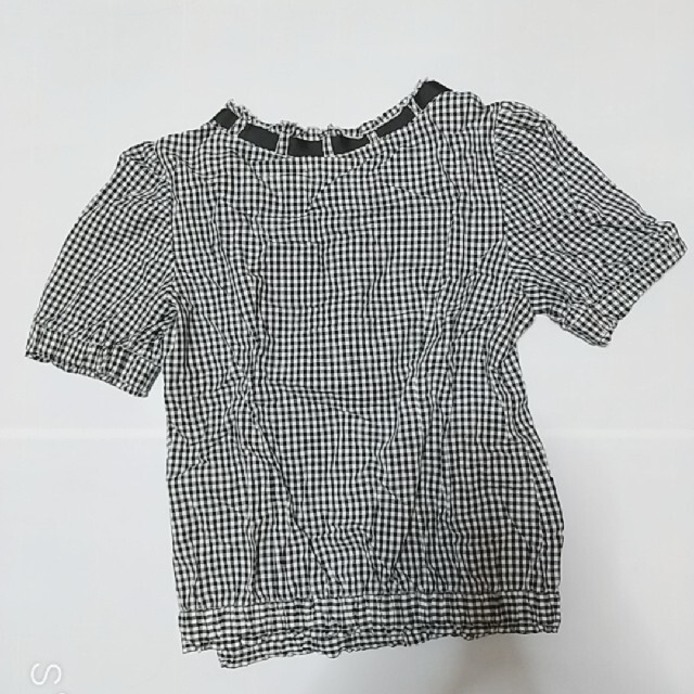 WILLSELECTION(ウィルセレクション)のギンガムチェック  半袖トップス レディースのトップス(カットソー(半袖/袖なし))の商品写真