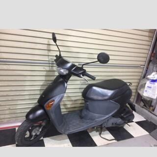 スズキ - 埼玉県深谷市 スズキ レッツ4 原付 スクーター 50cc バイク Mブラック