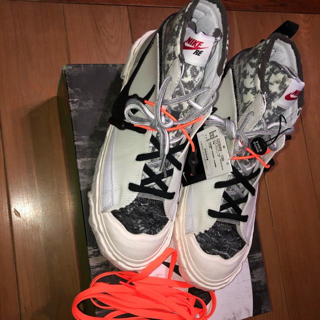 """NIKE(ナイキ)の[送料込み]. レディメイド × ナイキ ブレーザー ミッド """"ホワイト"""" メンズの靴/シューズ(スニーカー)の商品写真"""