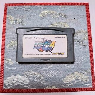 ゲームボーイアドバンス(ゲームボーイアドバンス)のGBAソフト ロックマンエグゼ4 トーナメントブルームーン(携帯用ゲームソフト)