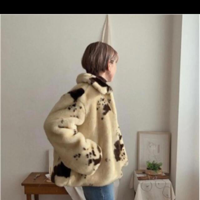 nokcha ダルメシアン ファーコート レディースのジャケット/アウター(毛皮/ファーコート)の商品写真