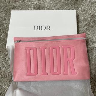 Dior - DIOR 新品 未使用 2021 ノベルティ ポーチ ピンク