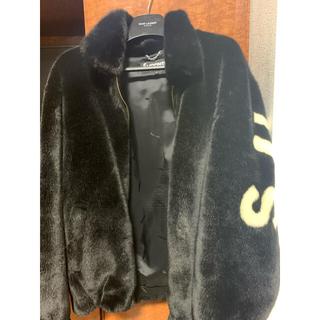 シュプリーム(Supreme)のsupreme fur faux bomber jacket L 確実正規品(テーラードジャケット)