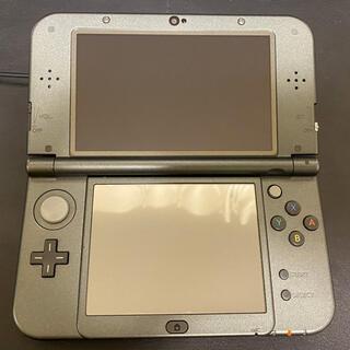 ニンテンドー3DS(ニンテンドー3DS)のNintendo 3DS NEW ニンテンドー 本体 LL メタリックブラック(携帯用ゲーム機本体)
