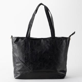 新品 人気 トート ショルダー バッグ 鞄 黒 ブラック