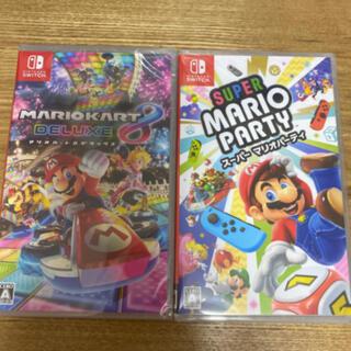 Nintendo Switch - Nintendo switch マリオソフトセット!