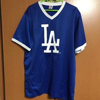 マジェスティック(Majestic)のmajestic製 LA フットボールシャツ XL(Tシャツ/カットソー(半袖/袖なし))