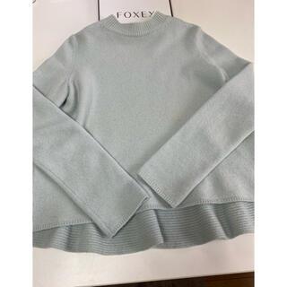 FOXEY - ✨フォクシーニューヨーク カシミヤ ペプラムセーター 40