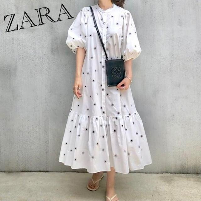 ZARA(ザラ)のZARA ビジューボタンニットカーディガン レディースのトップス(ニット/セーター)の商品写真