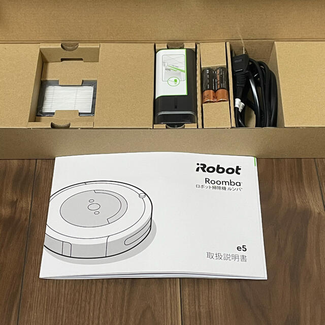 iRobot(アイロボット)のルンバ e5 スマホ/家電/カメラの生活家電(掃除機)の商品写真